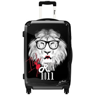 iKase Rock and Roll,Carry-on 20-inch,Hardside, Spinner Suitcase