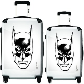 iKase Batman Xerox 2-piece Hardside Spinner Luggage Set