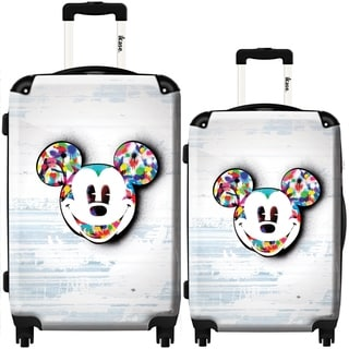 iKase Candy Mickey 2-piece Hardside Spinner Luggage Set