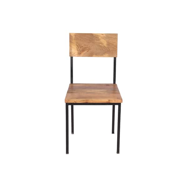 Prime Shop Handmade Mango Wood And Metal Chair Set Of 2 36 X Camellatalisay Diy Chair Ideas Camellatalisaycom