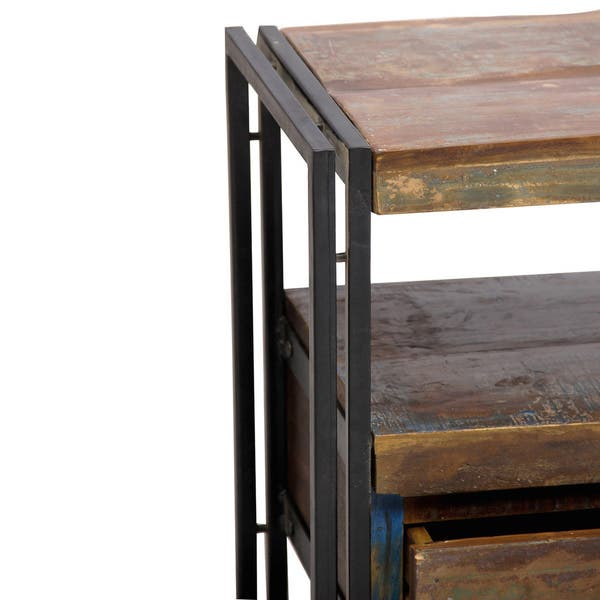 Astounding Shop Timbergirl Old Reclaimed Wood Tv Cabinet With Double Download Free Architecture Designs Grimeyleaguecom