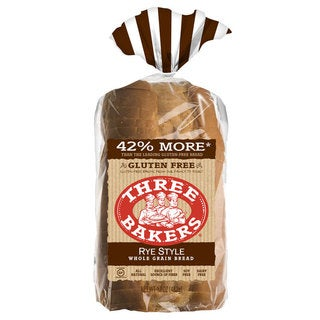 Three Bakers Gluten Free Rye Style Bread (Pack of 2)