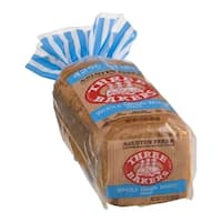 Three Bakers Gluten Free Whole Grain White Bread (Pack of 2)