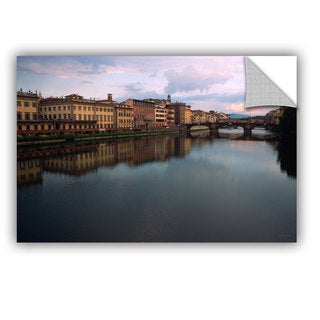 ArtAppealz Kathy Yates 'Florence Memories' Removable Wall Art