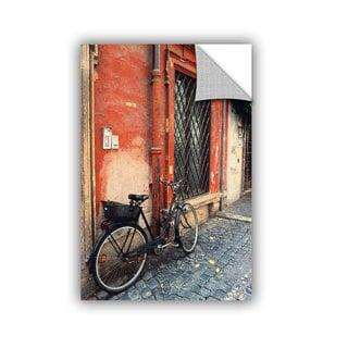 ArtAppealz Kathy Yates 'La Bicicletta ' Removable Wall Art