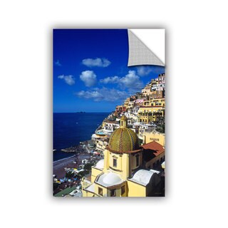 ArtAppealz Kathy Yates 'Picturesque Positano' Removable Wall Art
