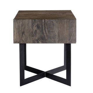 Aurelle Home Carin Single-drawer Side Table