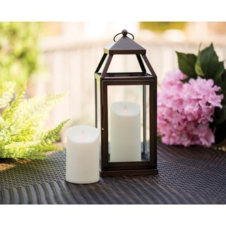 Mystique Moving Flame 7-inch Outdoor Candle