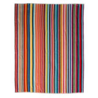 """Link to Kaufman 55""""X 68"""" MULTI-COLOR VELOUR STRIPE TOWEL. Similar Items in Towels"""