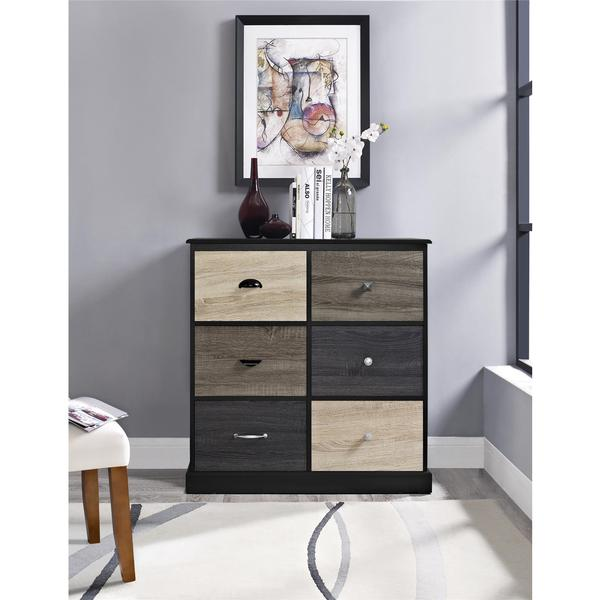 Terrific Shop Ameriwood Home Blackburn 6 Door Storage Cabinet With Interior Design Ideas Ghosoteloinfo