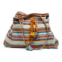 Handmade Boho Carry-All Bag (India)