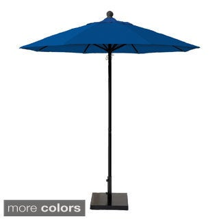 MIYU Furniture 7.5 ft. Fiberglass Market Umbrella