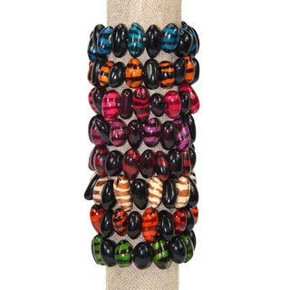 Tiger Bracelet Set of 8 (Columbia)