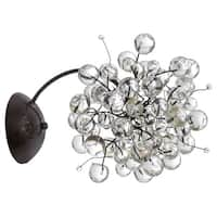 Luna Glam Beads Wall Sconce