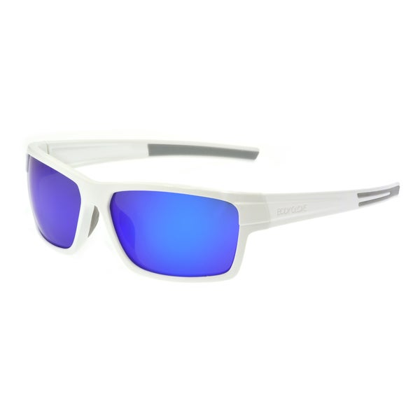 12d80d89f71 Shop Body Glove  Vapor 18  Polarized Sunglasses - White - L - Free Shipping  On Orders Over  45 - Overstock - 10275328