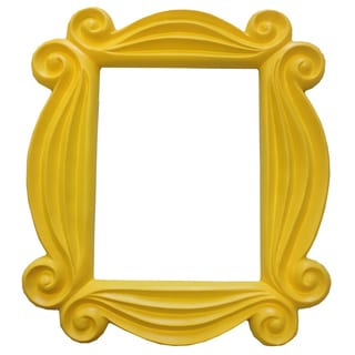 'Friends' Yellow Peephole Picture Frame