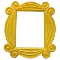 Friends' Yellow Peephole Picture Frame