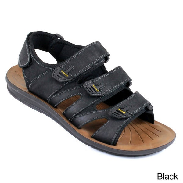Arider COLE-05 Men's Strappy Genuine Leather Comfort Sandals. Opens flyout.