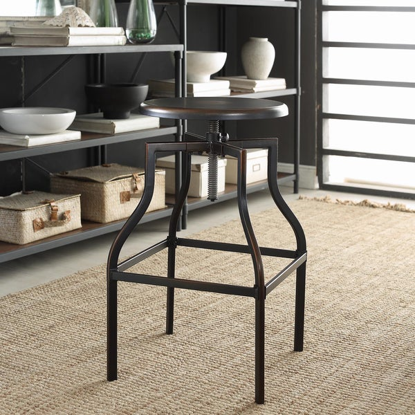 Turner Adjustable Stool Free Shipping Today Overstock