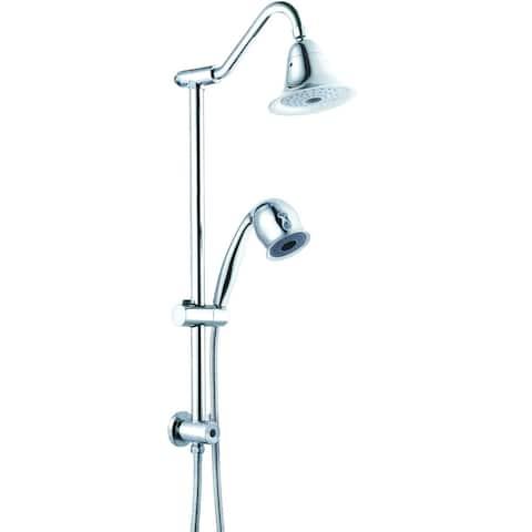 Gooseneck Spa Shower - Silver