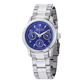 SO&CO New York Women's Madison Stainless Steel Watch|https://ak1.ostkcdn.com/images/products/10275450/P17391698.jpg?impolicy=medium