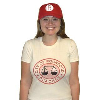 Women's Rockford Peaches Logo Jersey T-shirt Costume