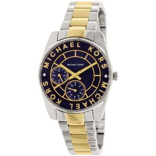Michael Kors Women's MK6195 'Ryland' Chronograph Two-Tone Stainless Steel Watch