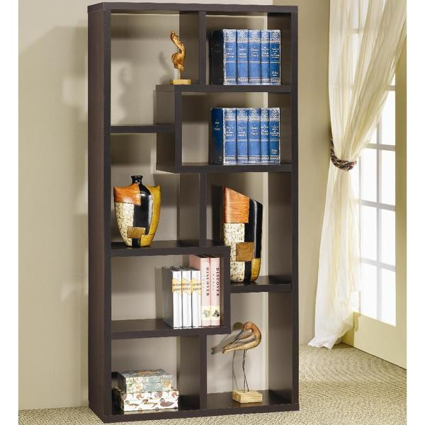 Backless Bookshelves Shop Turin Assymetrical Cube Bookcase - On Sale - Free Shipping Today -  Overstock - 10275718
