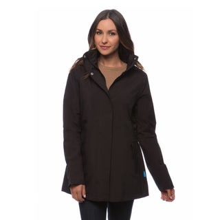 Happy Rainy Days Women's Hooded Zip-front Jacket (5 options available)