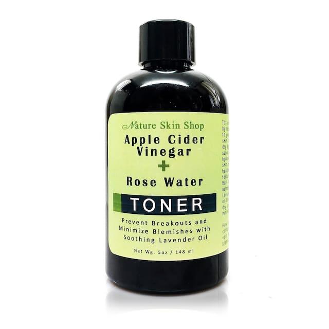 Apple Cider Vinegar and Rose Water Toner