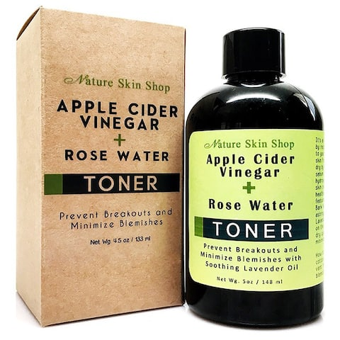 Handmade Apple Cider Vinegar and Rose Water Toner