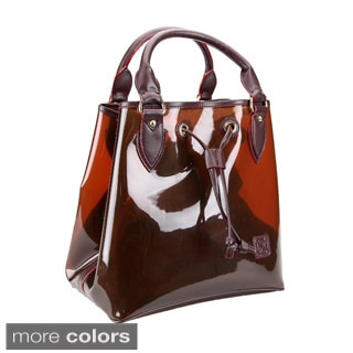 D by Dominie Small Opaque Jelly Tote