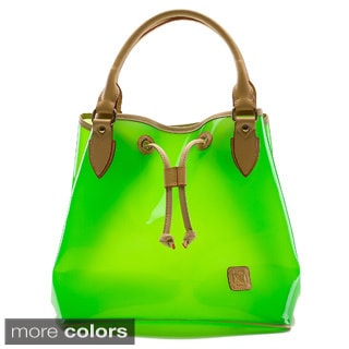 D by Dominie Large Opaque Jelly Tote