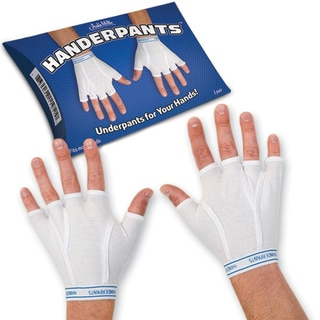 Link to Handerpants Fingerless Gloves Novelty Underpants Accoutrements Gag Gift Similar Items in Gloves