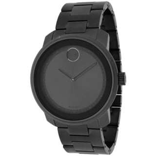 Movado Men's 3600259 Bold Round Grey Ion-Plated Bracelet Watch
