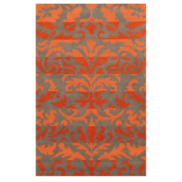 Rizzy Home Bradberry Downs Collection 100-percent Wool Accent Rug - 9' x 12'