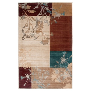 Rizzy Home Ivory/ Beige Bellevue Collection Power-loomed Accent Rug (9'2 x 12'6)