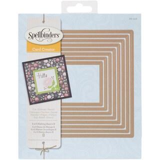 Spellbinders 6inX6in Card Creator Dies Matting Basics B