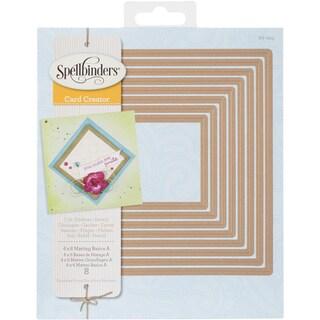 Spellbinders 6inX6in Card Creator Dies Matting Basics A