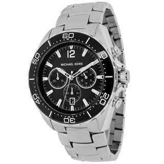 Michael Kors Men's MK8423 Winward Round Silvertone Bracelet Watch