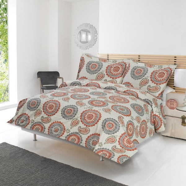 Exceptionnel Lauren Taylor   Adnan 3pc Printed Duvet Cover Set
