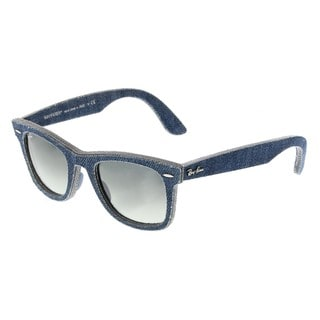 Ray-Ban RB2140 Blue Jeans Frame Grey Gradient Lens Wayfarer Sunglasses