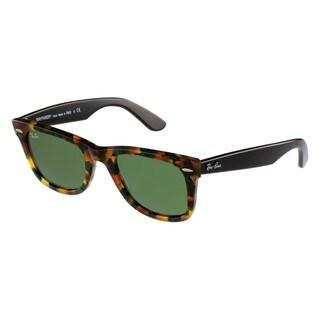 Ray-Ban Unisex RB2140 Wayfarer Tortoise Sunglasses