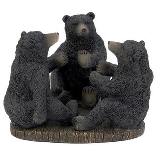 Black Bear Lodge Toothbrush Holder
