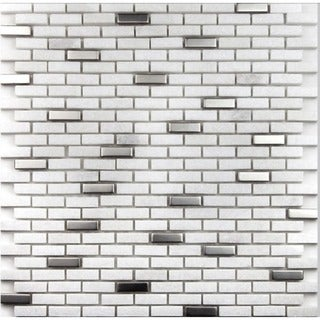 Martini Mosaic Muro Frozen Stone (Set of 6)