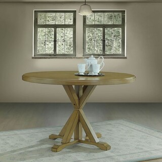 Porter X Base Round Dining Table