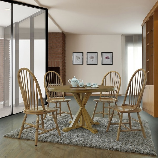 Porter X Base Round Dining Table - Free Shipping Today - Overstock ...