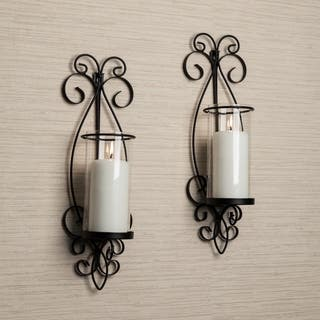 Danya B San Remo Metal Wall Sconce Set|https://ak1.ostkcdn.com/images/products/10276870/P17392881.jpg?impolicy=medium