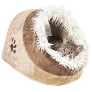 TRIXIE Minou Cuddly Cat House https://ak1.ostkcdn.com/images/products/10276893/P17392892.jpg?impolicy=medium