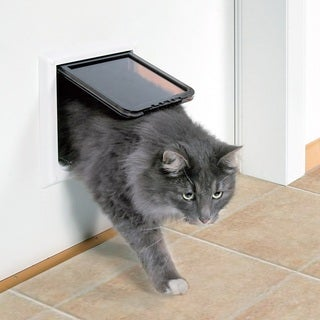 TRIXIE Extra Large 4-way Cat Door with Tunnel